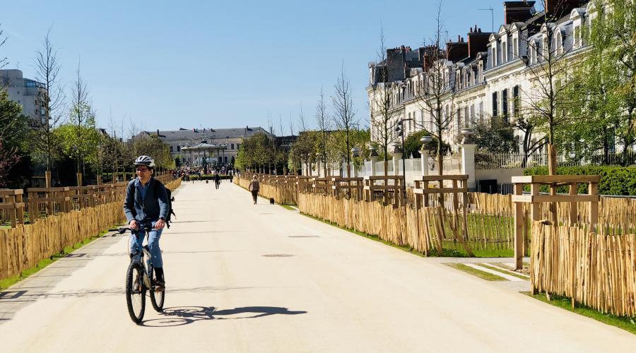 Avenue Jeanne d'Arc Chantier de niveau 2 - 12 mois de travaux  89 visites de chantiers - 0 accident de coactivité
